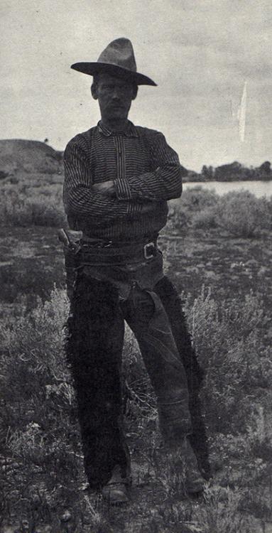 Real cowboy, Montana, late1800s