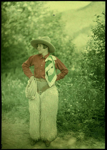 cowgirl fluffy pants 25