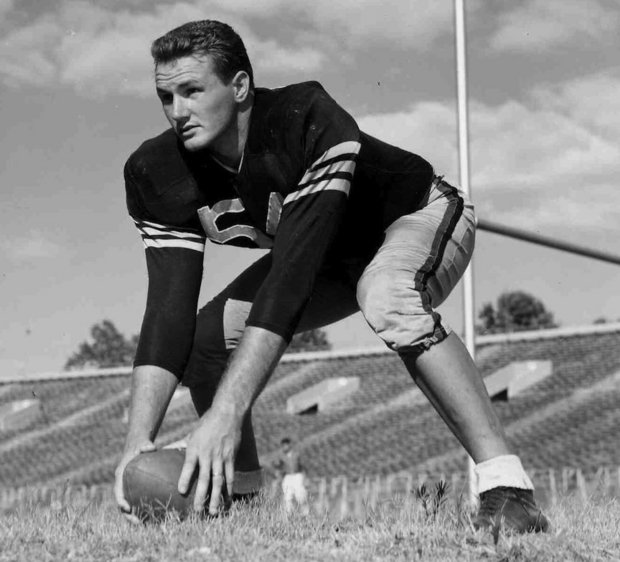 Young John Wayne as a USC football player, I think