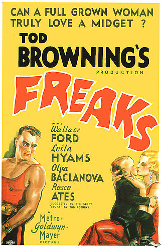 "Tod Browning's ""Freaks"", 1932"