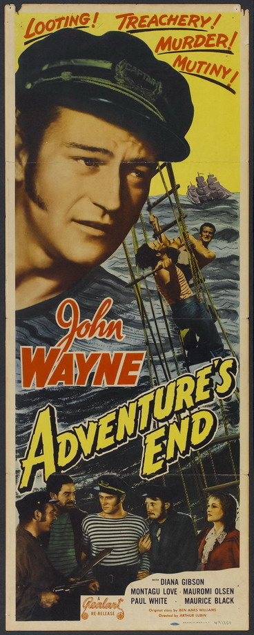 "John Wayne in ""Adventure's End"""