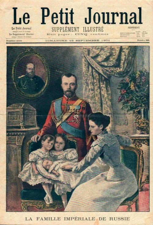 La Famille Imperiale de Russie,1901