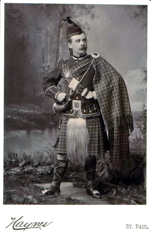 Stache and Kilt