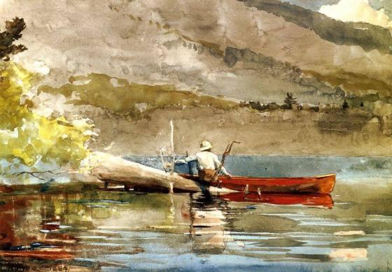 winslow homer red canoe