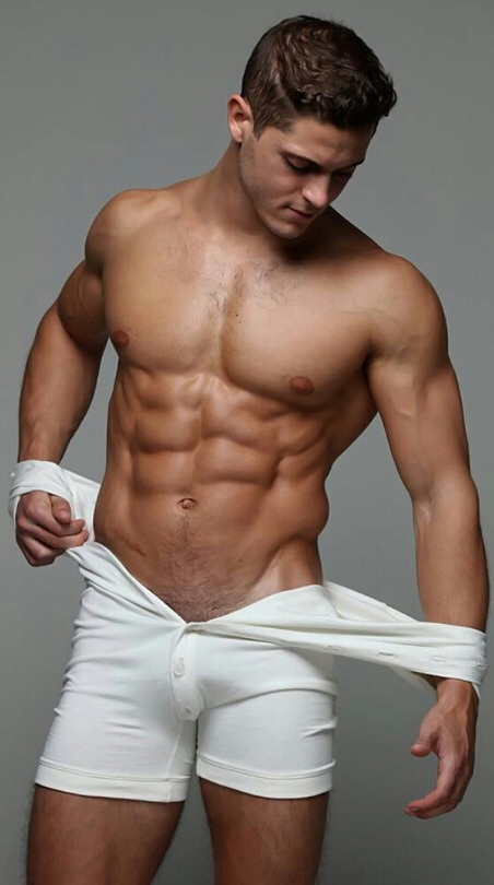 Gratuitous Shirtless Model