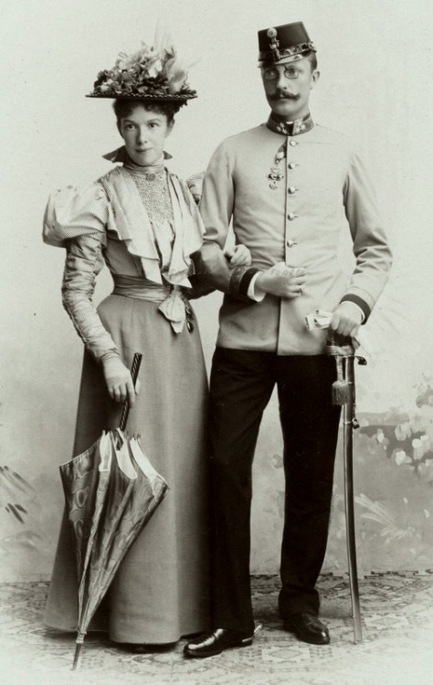 Archduchess Marie Valerie and her husband, Archduke Franz Salvator of Austria
