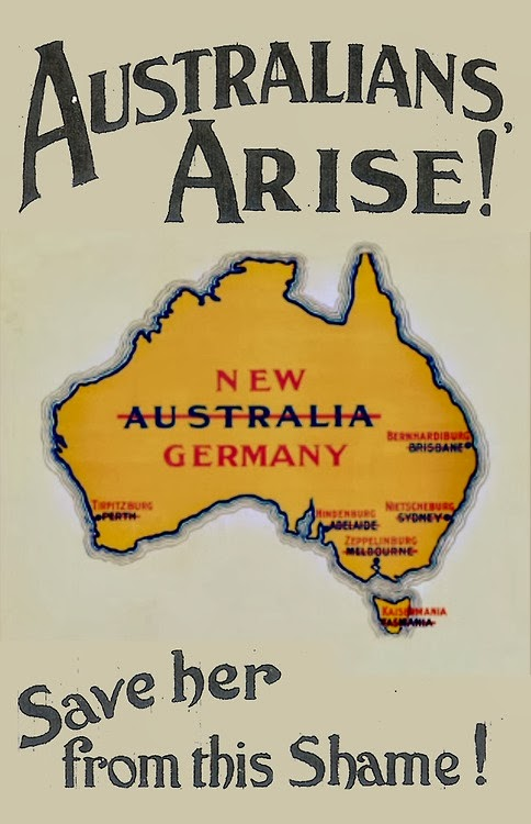 Australians arise! (WWI anti-German poster)