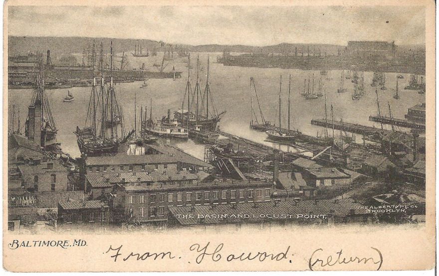 Port of Baltimore, 1800s