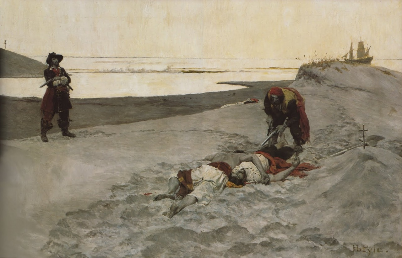 """Dead Men Don't Talk"" by Howard Pyle"