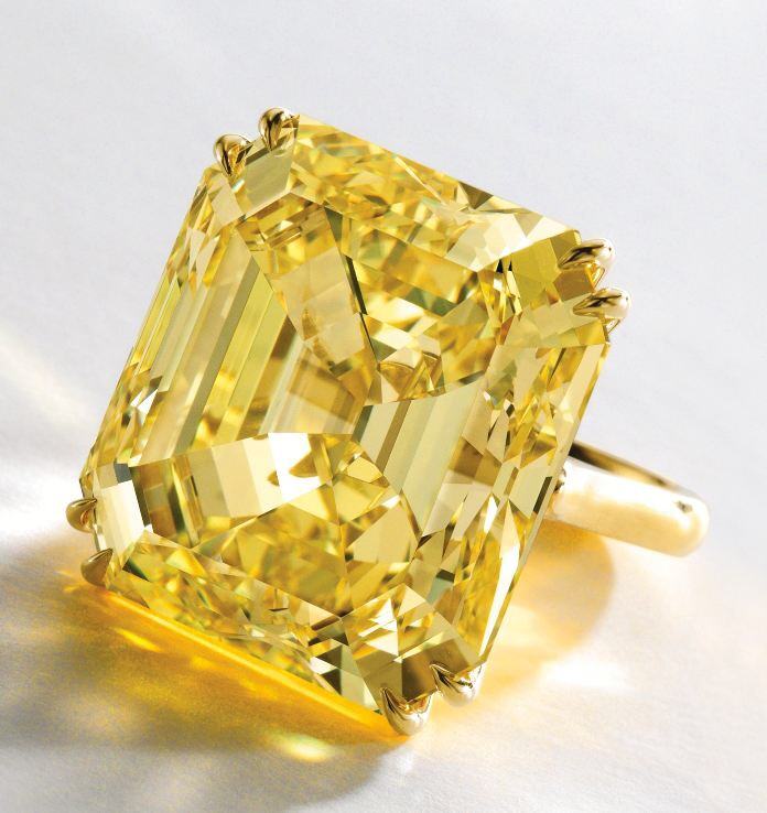 52 Carat Yellow Diamond