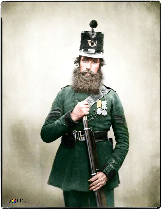 English Crimean War Veteran, 1800s