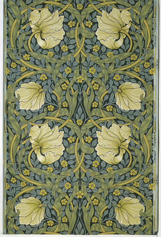 William Morris floral pattern