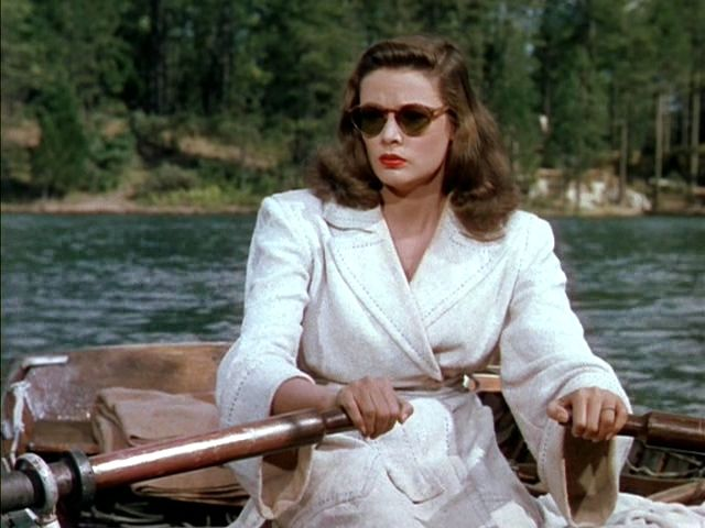 """Gene Tierney in """"Leave Her to Heaven"""",1945"""
