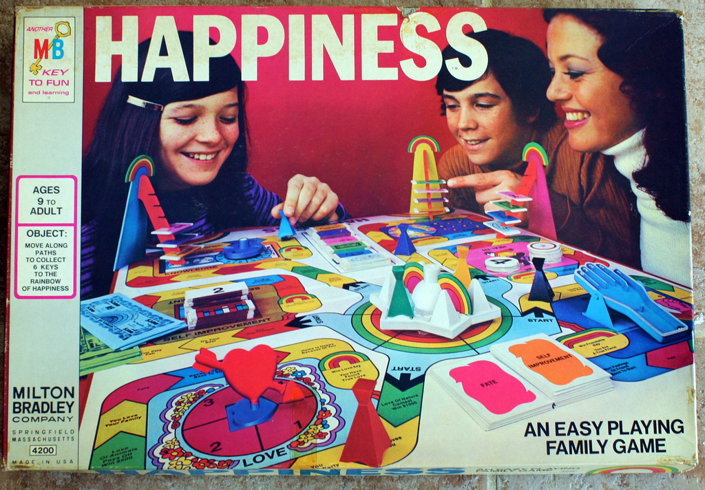 Happiness, an easy playing family game