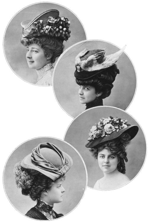Hats by Maison Félix, Les Modes,1906