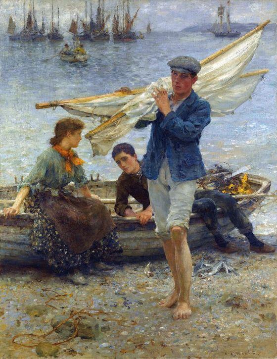 henry_scott_tuke_-_return_from_fishing_1907