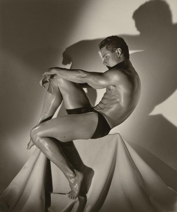 Greg Louganis by Herb Ritts, 1987