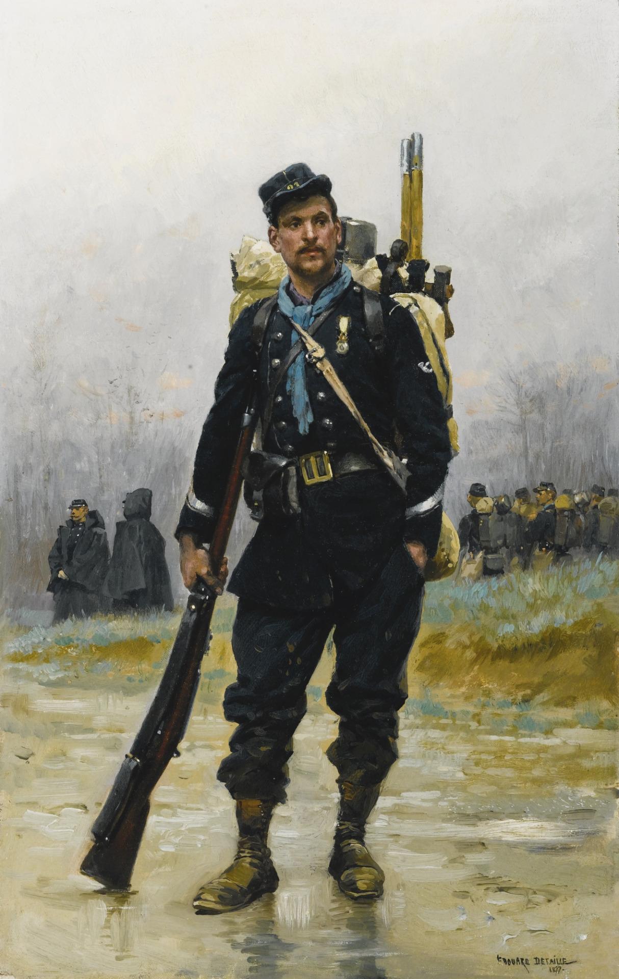 """""""Infanterie de Lignet et Génie"""" par EdouardDetaille"""