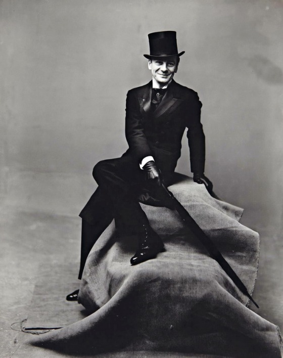 John Gielgud by Irving Penn, 1947