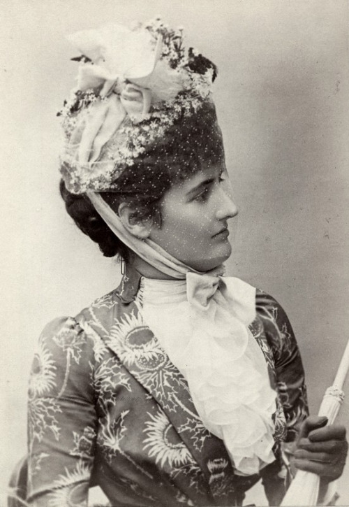 Lady Hermione Duncombe, Duchess of Leicester, 1880s