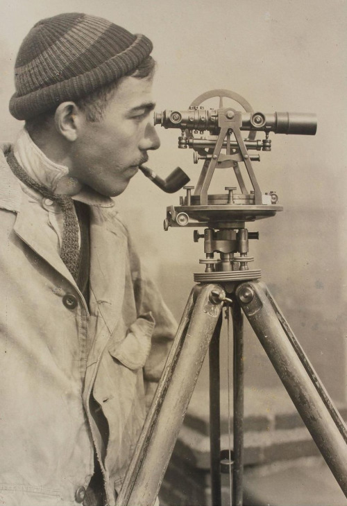 Lewis Wickes Hine, Surveyor, The Empire State Building, New York City