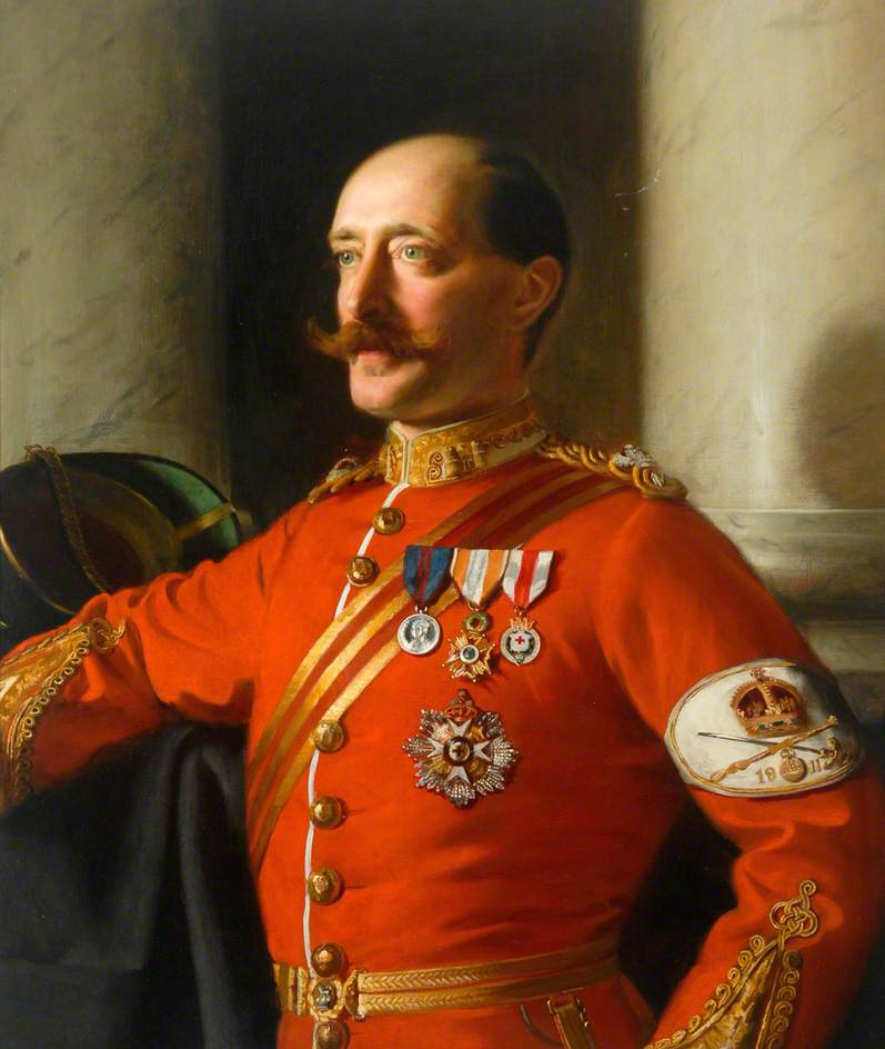 Major G. A. Fowler Burton by John Frederick Harrison Dutton