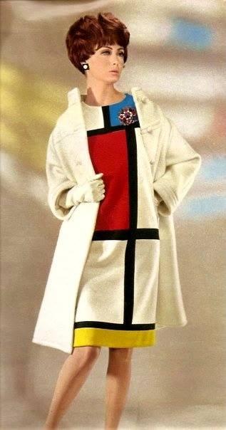 Yves St. Laurent Mondrian design, Montreal,1960s