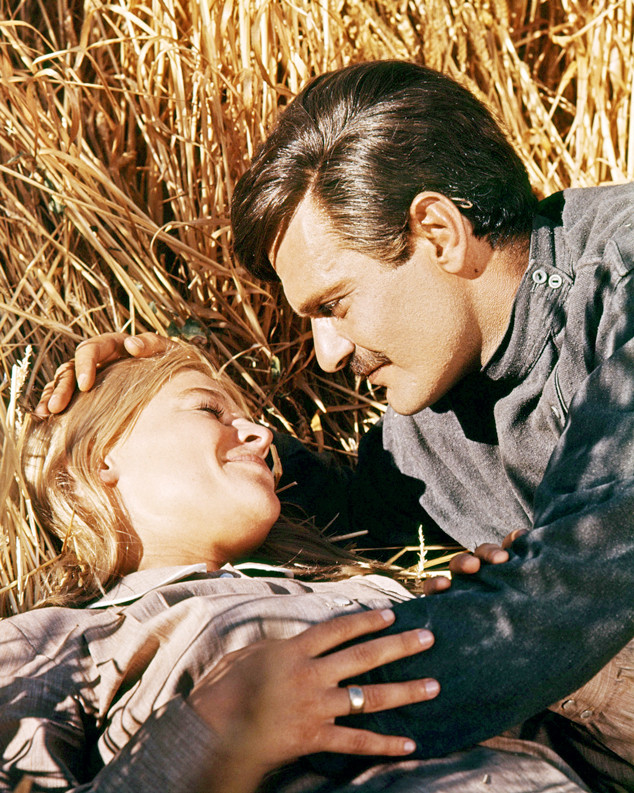 """Omar Sharif and Julie Christie in """"DoctorZhivago"""""""