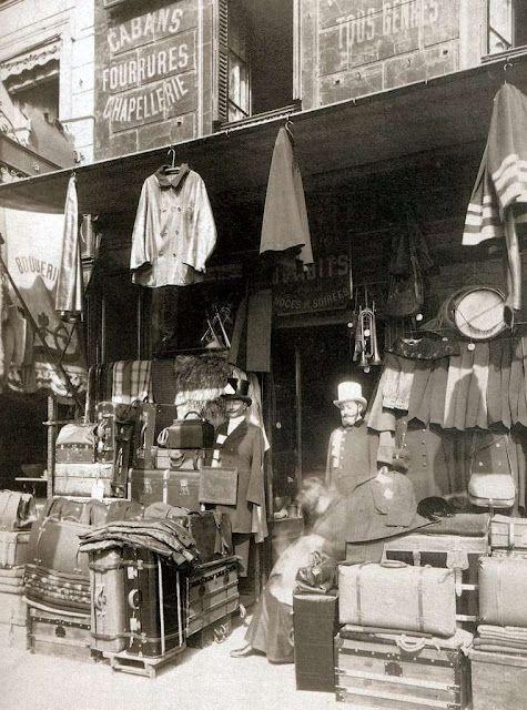 Parisian shop by Eugene Atget, circa1910