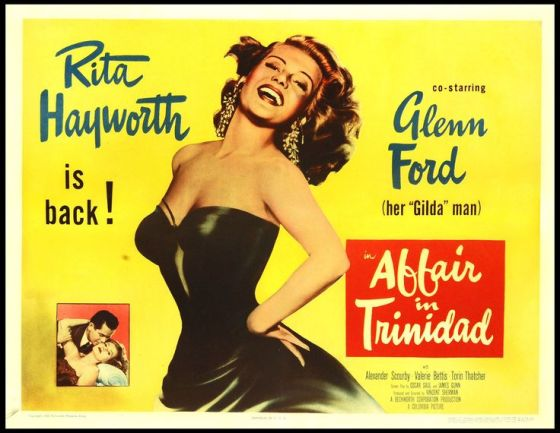 rita hayworth affair in trinidad