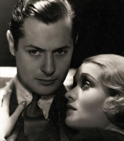 Robert Montgomery and Constance Bennett,1931
