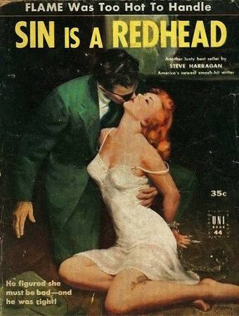 Sin is aRedhead