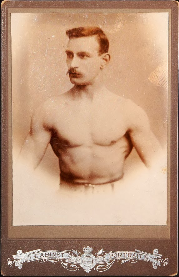 Vintage stache and muscle