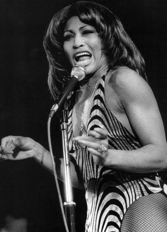 Tina Turner photographed by Mick Rock,1974