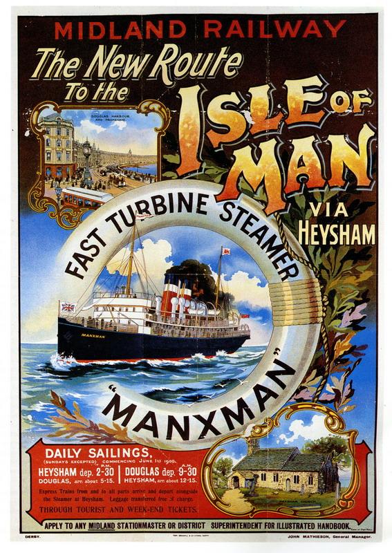 "Isle of Man via the ""Manxman"""