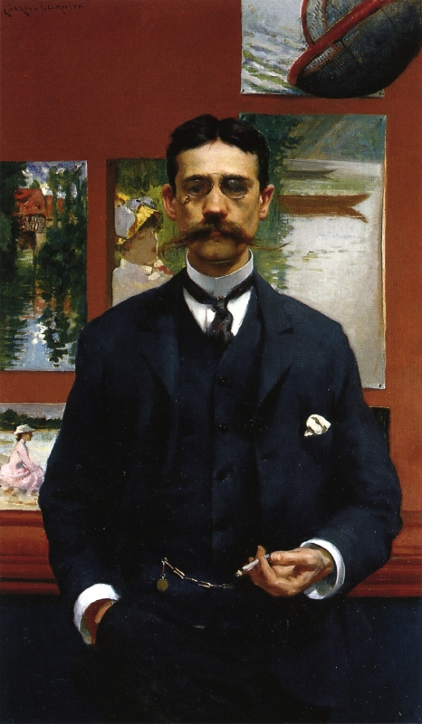 William Walton by James Carroll Beckwith,1886