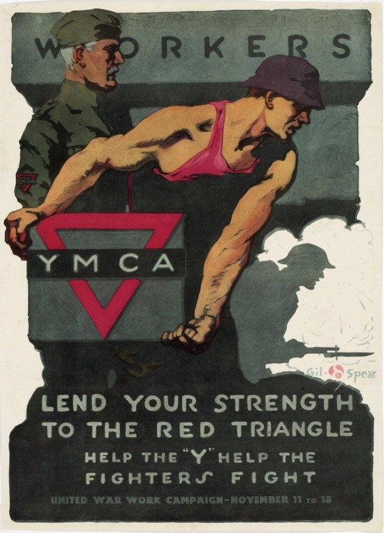 WORKERS YMCA WWI