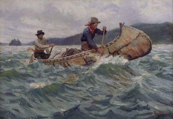 birchbark-canoe