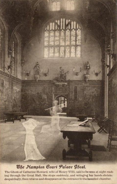 The Hampton Court PalaceGhost