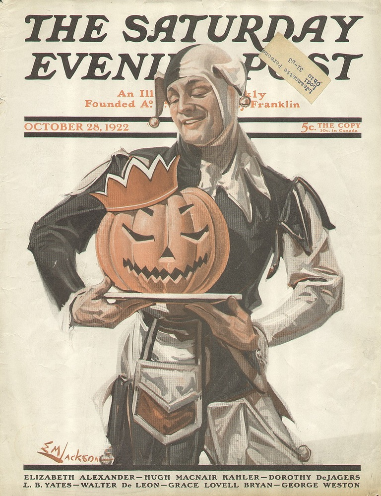 Halloween cover of The Saturday Evening Post, 1922