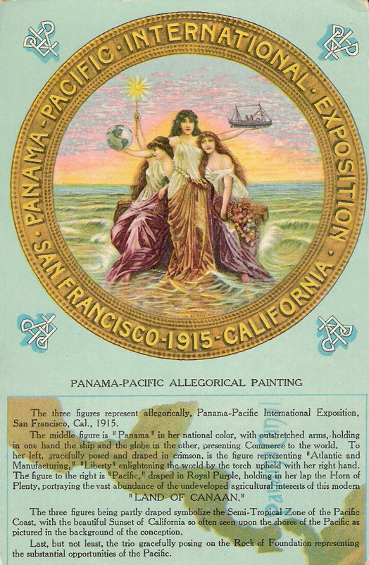 Panama-Pacific International Expo, San Francisco, 1915