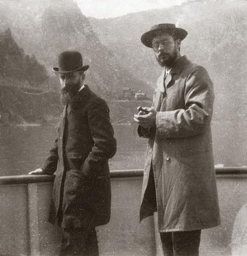 photo-of-the-painters-vuillard-and-bonnard-on-lake-como-or-lake-garda-in-1899