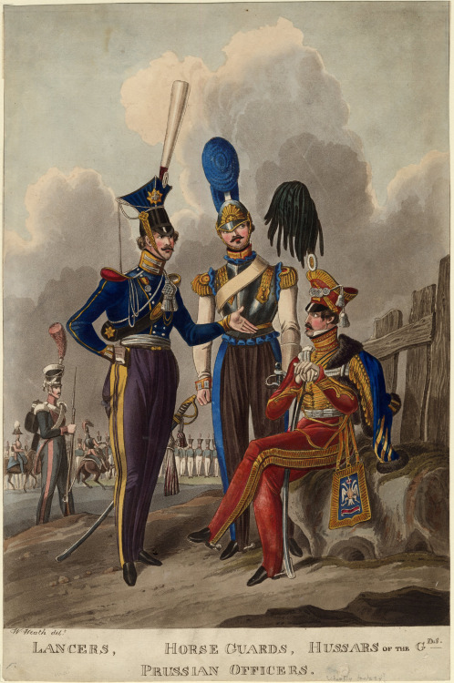 prussian-officers-1800s