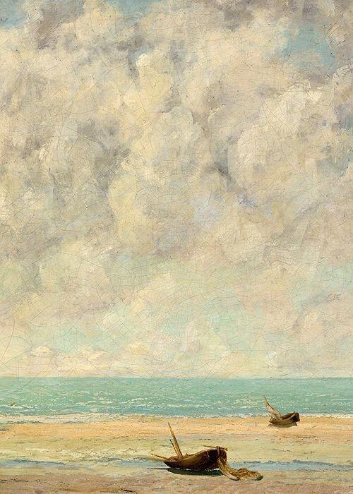 the-calm-seadetail-gustave-courbet-1869