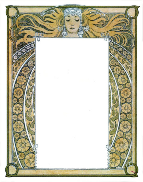 Alphonse Mucha illustration