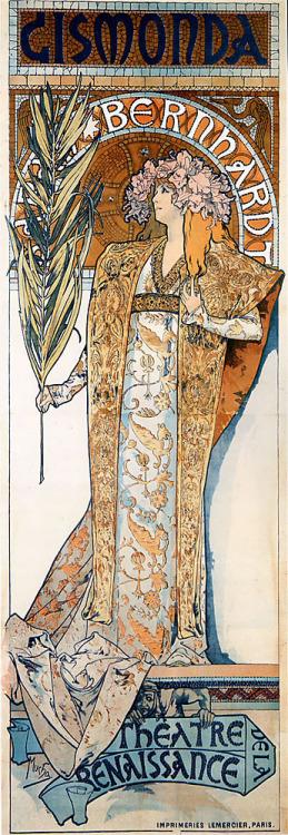 Sarah Bernhardt au Theatre de la Renaissance,Paris
