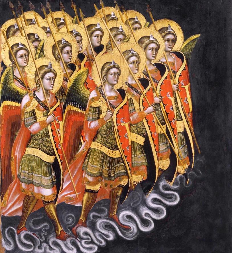 """Guariento di Arpo, """"Angels' Army"""",1360"""