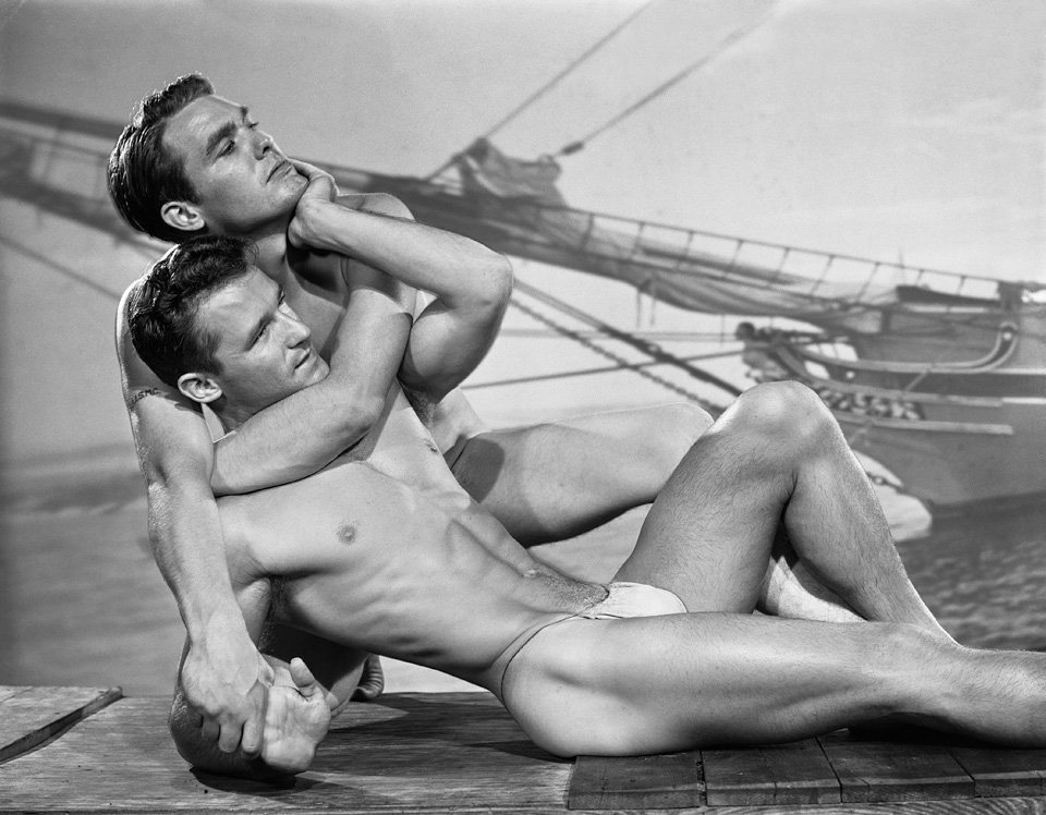 Physique era photo by Bob Mizer