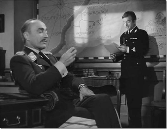 """Conrad Veldt and Claude Raines in """"Casablanca"""", 1942"""