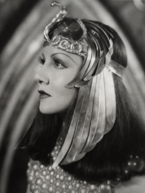 "Claudette Colbert in ""Cleopatra"", photo by Ray Jones, 1930s"